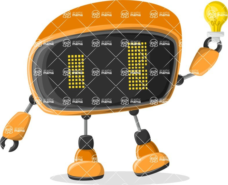 Robot Cartoon Graphic Maker - pose 42