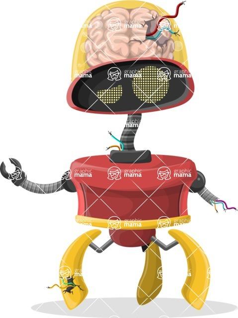 Robot Cartoon Graphic Maker - pose 43
