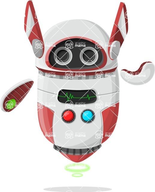 Robot Cartoon Graphic Maker - pose 45