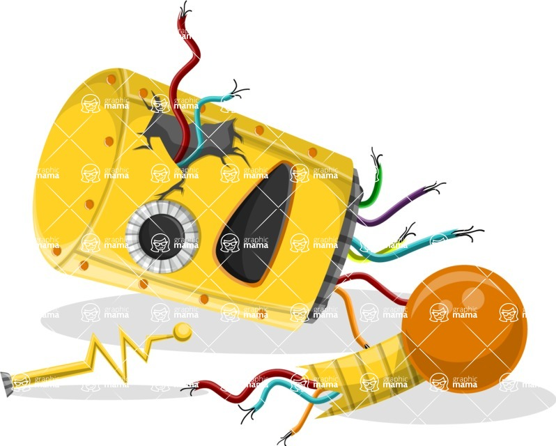 Robot Cartoon Graphic Maker - pose 52