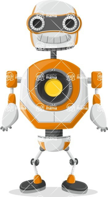 Robot Cartoon Graphic Maker - pose 53