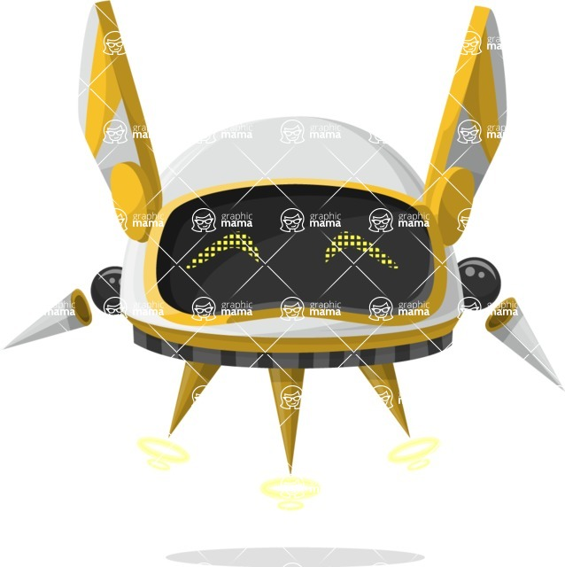 Ultra Robot - pose 54