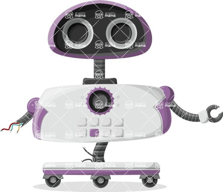 Robot Cartoon Graphic Maker - pose 63