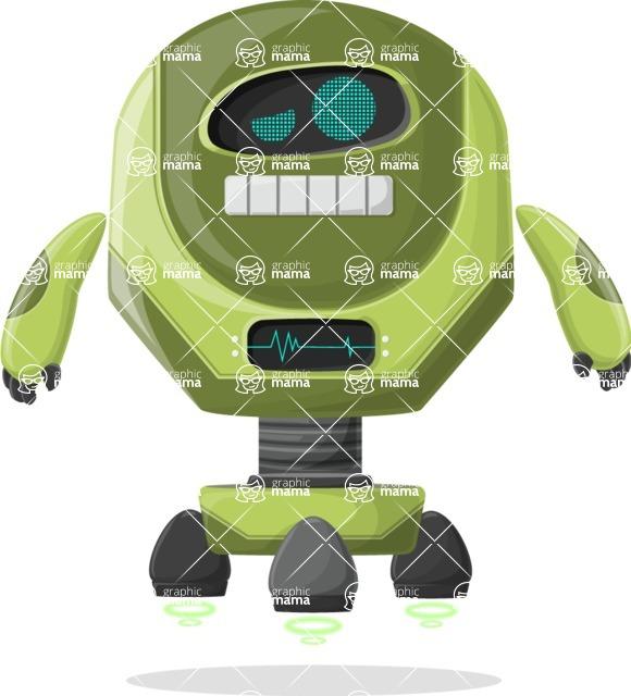 Robot Cartoon Graphic Maker - pose 66
