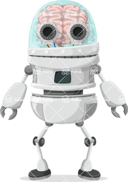 Robot Cartoon Graphic Maker - pose 67
