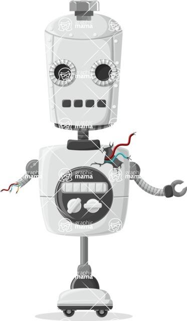 Robot Cartoon Graphic Maker - pose 68