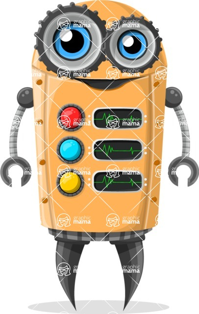 Robot Cartoon Graphic Maker - pose 69