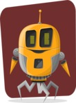 Robot Cartoon Graphic Maker - pose 10