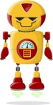 Robot Cartoon Graphic Maker - pose 12