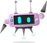 Robot Cartoon Graphic Maker - pose 15