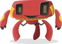 Robot Cartoon Graphic Maker - pose 32