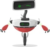 Robot Cartoon Graphic Maker - pose 35