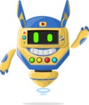 Robot Cartoon Graphic Maker - pose 38
