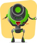 Robot Cartoon Graphic Maker - pose 5