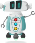 Robot Cartoon Graphic Maker - pose 58