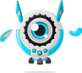 Robot Cartoon Graphic Maker - pose 60