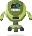 Robot Cartoon Graphic Maker - pose 66
