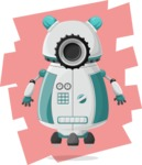 Robot Cartoon Graphic Maker - pose 8