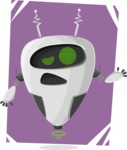 Robot Cartoon Graphic Maker - pose 9