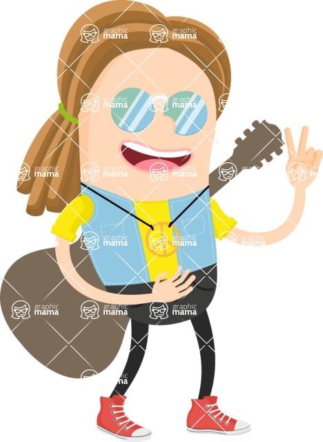Musician Vector Graphics Maker - Musician 10