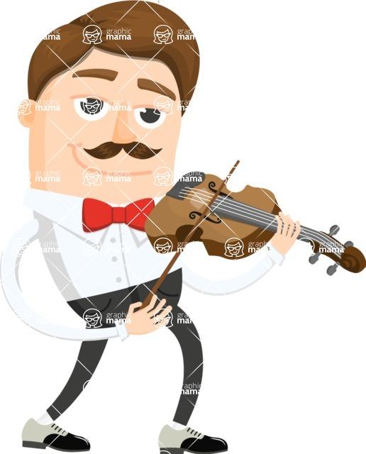 Musician Vector Graphics Maker - Musician 2
