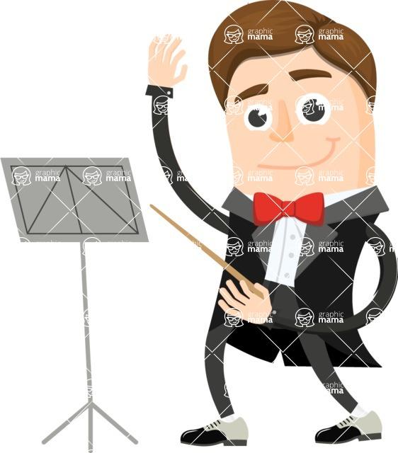 Musician Vector Graphics Maker - Musician 22