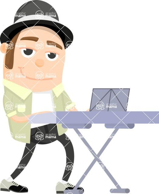 Musician Vector Graphics Maker - Musician 26