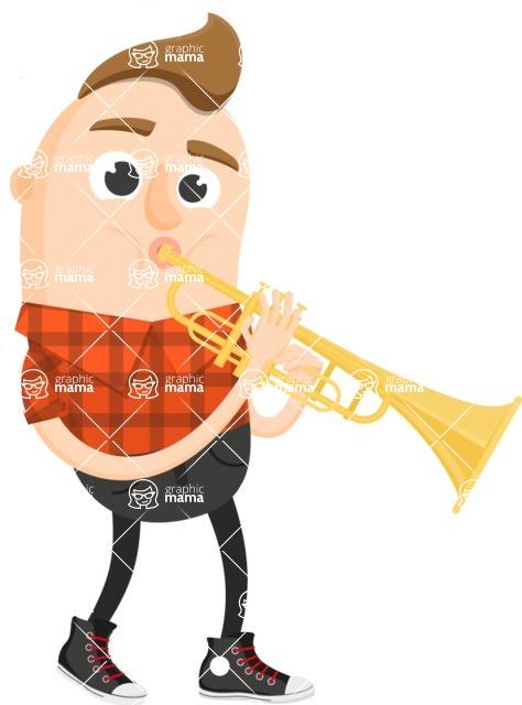 Musician Vector Graphics Maker - Musician 27