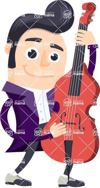 Musician Vector Graphics Maker - Musician 3