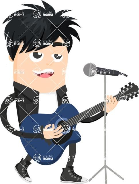 Musician Vector Graphics Maker - Musician 36