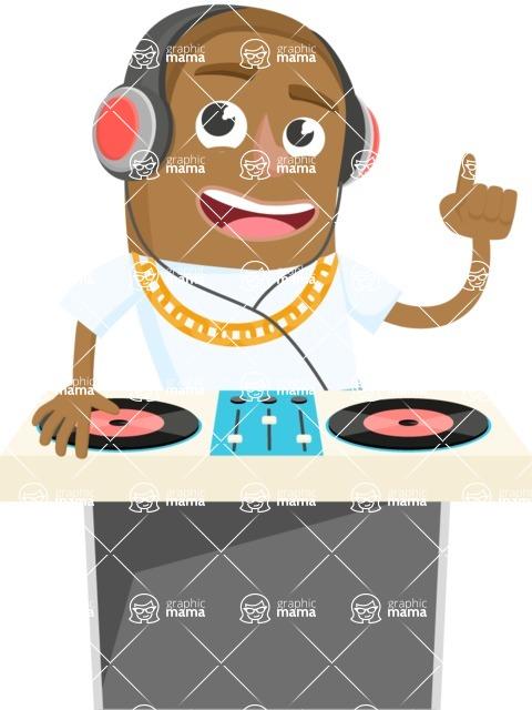 Musician Vector Graphics Maker - Musician 41