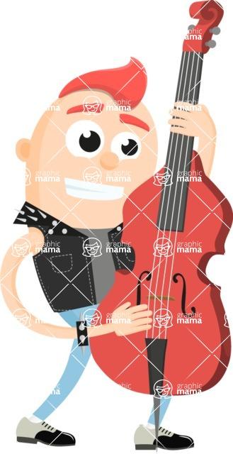 Musician Vector Graphics Maker - Musician 47