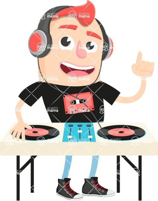 Musician Vector Graphics Maker - Musician 7