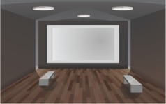 Room Backgrounds Vector Collection - Room Interior Vector Background