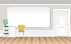 Room Backgrounds Vector Collection - Business Room Vector Background