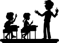 Teacher and Students in Class