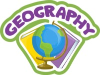 Geography School Sticker