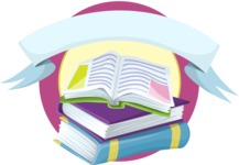 School Books Sticker