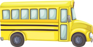 Yellow School Bus 3