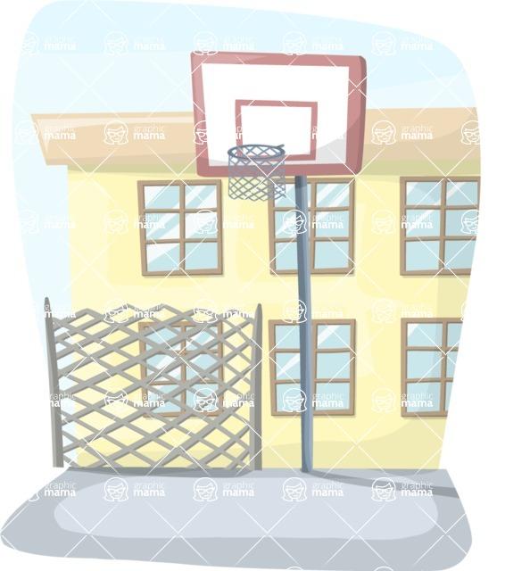 School Yard Basketball