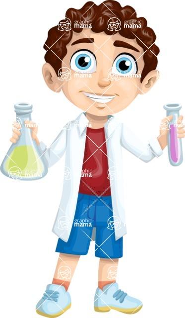 Chemistry Student Boy