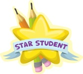 Star Student Sticker