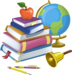 Books and School Tools