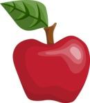 School vector graphics pack - editable schoolboy, schoolgirl, pupil, teacher characters, items, icons, illustrations, backgrounds, scenes - Apple