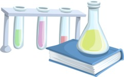 Chemistry Tubes and a Book