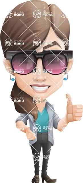 Laisa the Casual girl - Sunglasses