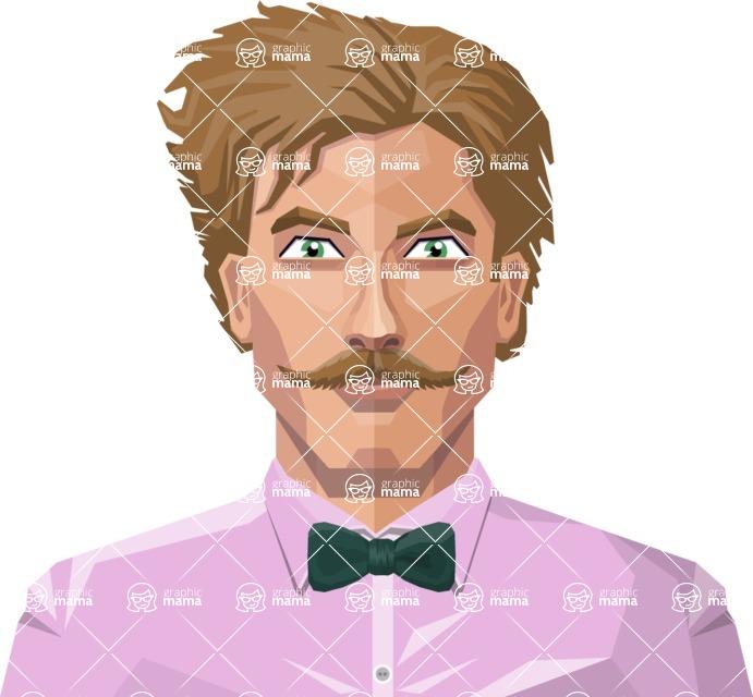 DIY Low Poly Geometric Characters: Men - Avatar 20
