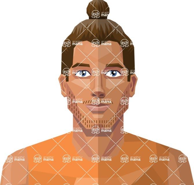 DIY Low Poly Geometric Characters: Men - Avatar 27