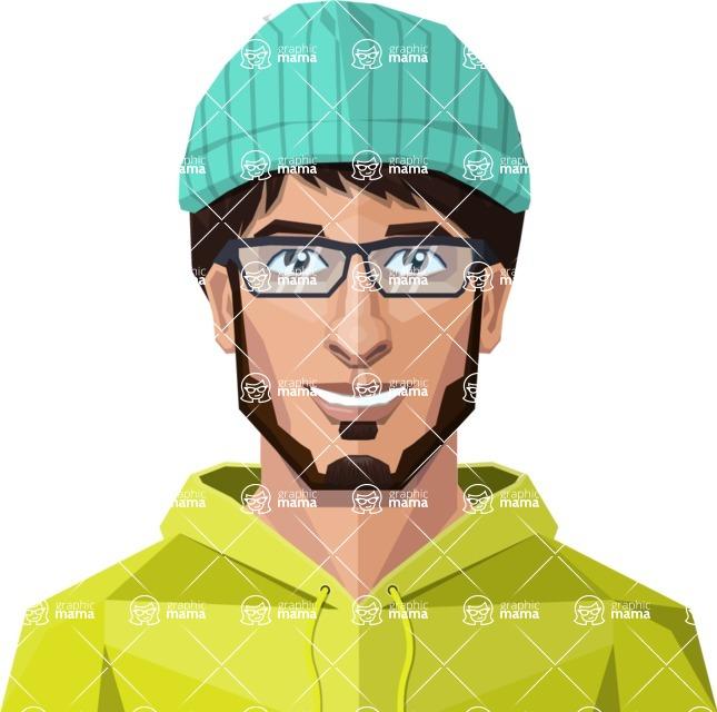 DIY Low Poly Geometric Characters: Men - Avatar 29