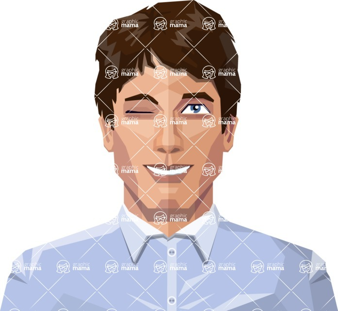 Male Low Poly Character Creator Design Bundle / Avatar 3
